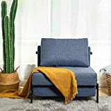 Vonanda Sofa Bed, Sleeper Convertible Chair Multi-Function Guest Bed Modern...