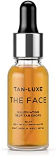 Tan Luxe The Face 20ml - Illuminating Self-Tanning Drops