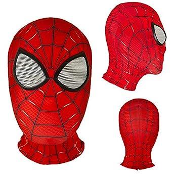 Halloween Mask Superhero Spider Masks Cosplay Costumes Mask Lycra Fabric Material  Child mask 05