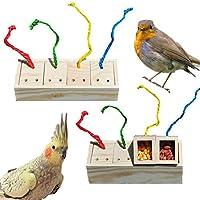 バードトイ インコ おもちゃ オウム噛む玩具 鳥 ペットボウル 食器 鳥餌入れ オウム インコ 小動物用 早食い対策 餌入れ 給餌器 鳥用 玩具 知育玩具 ストレス解消 運動不足対策