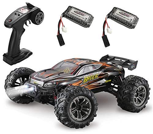 MODELTRONIC Coche Radio Control teledirigido Monster 4x4 Truggy XLH Spirit 9136 Escala 1/16 Eléctrico 2.4G / Velocidad de 40km/h / 2X Batería Recargable Coche RC XINLEHONG
