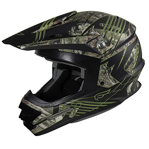 Fulmer, 2013225, Fulmer Zen Adult MX Helmet - Mossy Oak Break-Up Infinity, XL