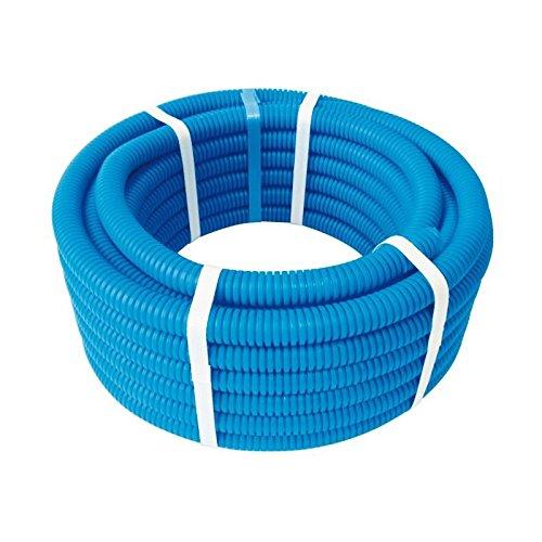 SOMATHERM FOR YOU - Couronne de 15m de Tube PER Ø12 gainé bleu