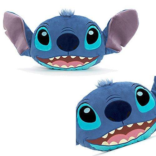 Official Disney Lilo & Stitch Big Face Soft Plush Cushion Stitch