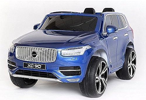 marca en liquidación de venta Coche Electrico para Niños Auto Alimentado con Batería Vehículo Vehículo Vehículo Eléctrico Control Remoto - VOLVO XC90 - azul Metálico  Sin impuestos