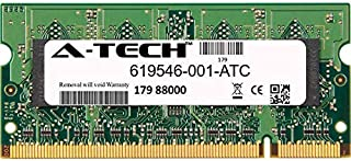 A-Tech 2GB Replacement for HP 619546-001 - DDR2 800MHz PC2-6400 Non ECC SO-DIMM 1.8v - Single Laptop & Notebook Memory Ram Stick (619546-001-ATC)