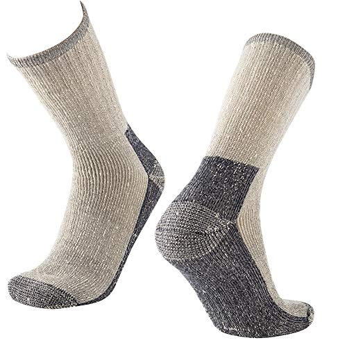 Men Crew Socks 70% Merino Wool $2.50 (75% OFF Coupon)