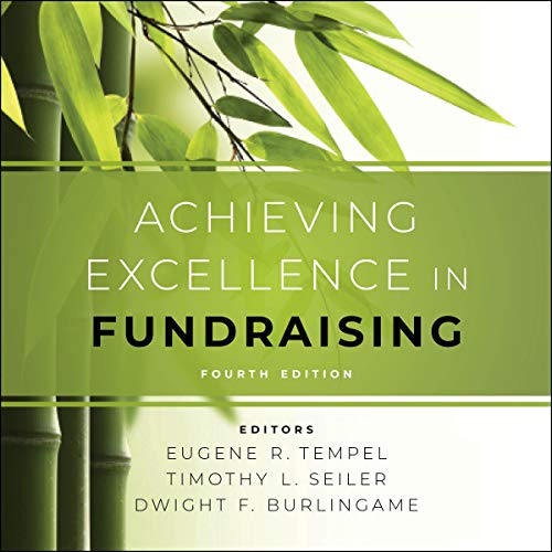 Achieving Excellence in Fundraising audiobook cover art