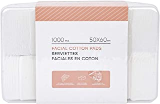 MINISO Makeup Remover pads 1000 Pcs Cotton Facial Cleansing Wipe