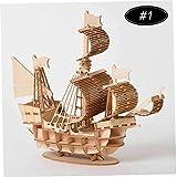 CULER Rompecabezas De Madera Asamblea DIY 3D Modelo Jigsaw Juguetes De Niños Y Adultos Bricolaje Turística Módulo Decorativo Decoración Puzzle Juguetes