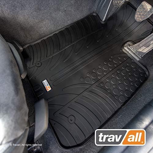 Travall Mats Compatible with BMW 1 Series Hatchback 3 Door 2012-2019 5 Door 2011-2019 TRM1020R - Vehicle-Specific Full Set of Rubber Car Floor Mats