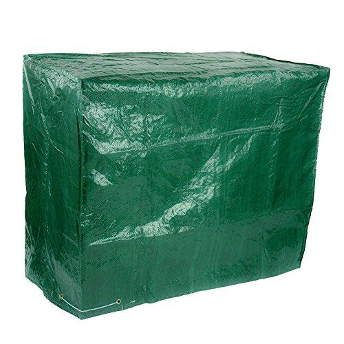 Funda protectora impermeable para jardín, color verde
