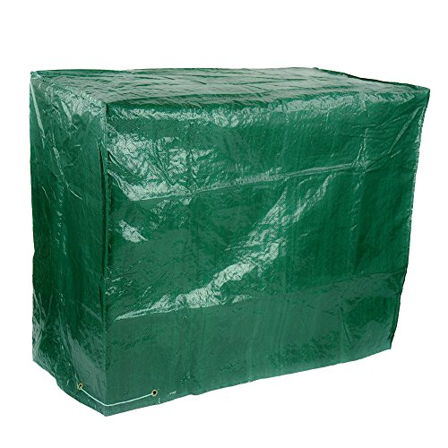 Large Wagon Trolley Oil Barrel BBQ Barbecue Green Garden Protection Waterproof Cover