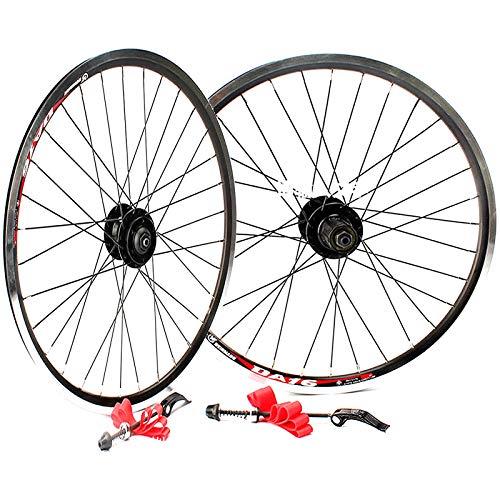 20 Pulgadas Ciclismo de Ruedas V Freno / Freno de Disco Delantero BMX Bike & Trasero Conjunto Plegable de Aluminio Llantas 100 / 135mm 32 Hoyos de Liberación Rápida Velocidad 8/9 ( Size : V brake )