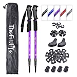 TheFitLife Hiking Walking Trekking Poles - 2 Pack With Antishock And Quick Lock System, Telescopic, Collapsible… 7