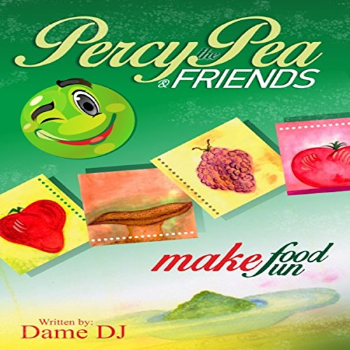 Percy the Pea and Friends audiobook cover art