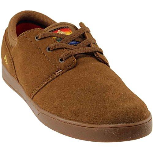 Emerica Men's The Figueroa SMU Shoes,10,BrownGum