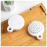 Silicone Shampoo Cepillo Suave Y Cómodo Masaje Scalp Scalp Cepillo De Masaje Silicona Ecológico Champú Cepillo Hombres Y Niños Cinturón para Niños Cepillo Relajante(Size:2pcs)