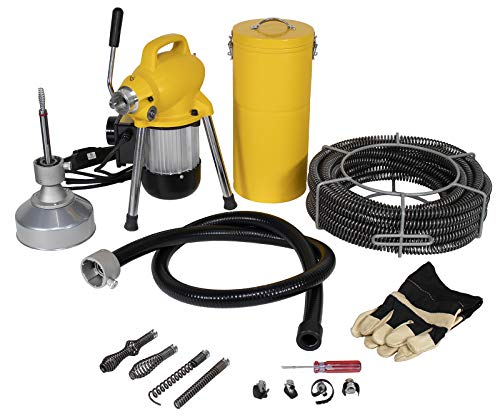 Steel Dragon Tools K50 Drain Cleaning Machine fits RIDGID Snake Sewer C8 Cable 58980