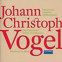 フォーゲル:交響曲第1番 - 第3番(バイエルン・カンマーフィル/ゲーベル)