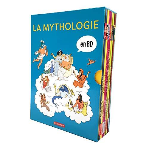 La mythologie en BD : Coffret en 8 volumes : L'Odyssée 1 et 2 ; Thésée et le Minotaure ; Les douze travaux d'Héraclès ; Jason et la toison d'or ; La ... de Troie ; Zeus, le roi des dieux ; Prométhée