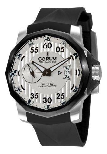 Corum Admirals Cup Herren-Armbanduhr 94795194/0371, schwarzes Wettkampf 48, weißes Zifferblatt