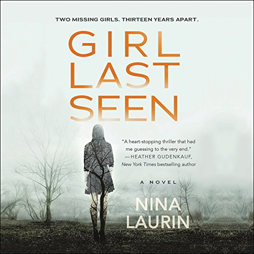 Girl Last Seen audiobook cover art