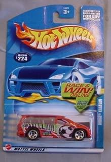 Hot Wheels 2002 Dodge Caravan Mainline #224 ORANGE