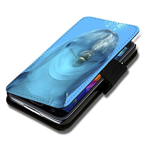 Book Style Flip Handy Tasche Case Schutz Hülle Schale Motiv Etui für Samsung Galaxy S5 SM - G900 - A38 Design4