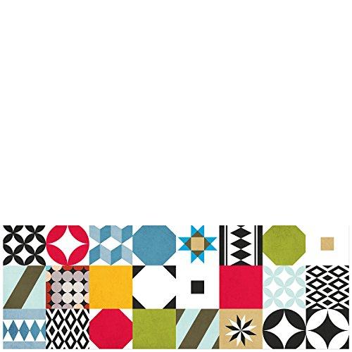 Laroom Alfombra, Vinylic Flooring PVC - Antislip, Multicolor