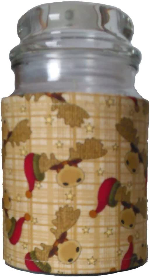 Accented Apparel Product N More Insulated Jar Safety and trust Christmas Wrap Mo - Candle