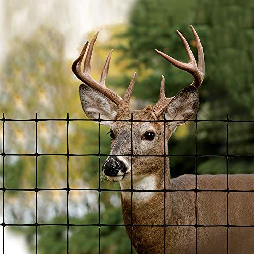 Tenax 1A120243 Deer Fence Select, 6 ft x 100 ft, Black