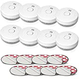 Best Smoke Alarms - Smoke Alarm Fire Detector, Battery Included Photoelectric Smoke Review