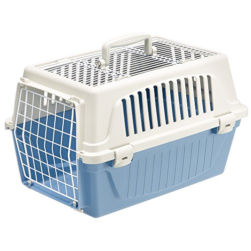 Ferplast Atlas Pet Carrier | Small Pet Carrier for Dogs & Cats w/Top & Front Door Access