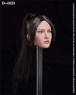 KK店 1/6 Createmodels 素体 フィギュア 女性 ヘッド 頭 表情 特別 むっと 顔つき 美しい かわいい いたずら OBITSU・JODOLL・TBLEAGUEのボディに適応