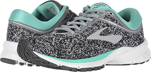 Brooks Launch 5 Grey/Aqua Green/Ebony 6