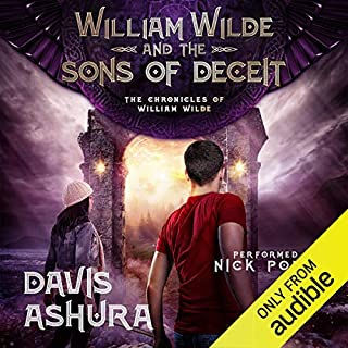 William Wilde and the Sons of Deceit audiobook cover art