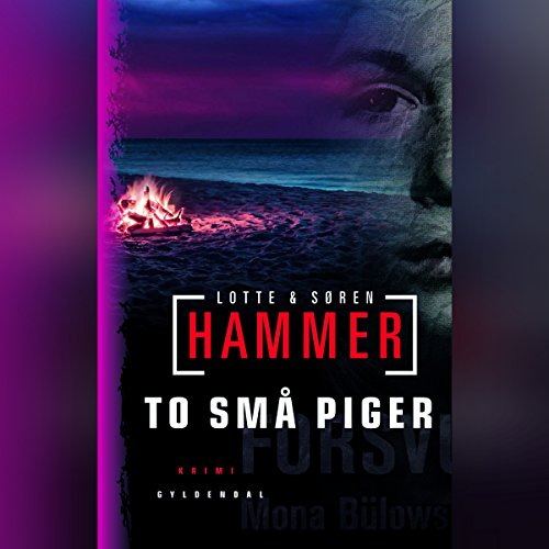To små piger audiobook cover art