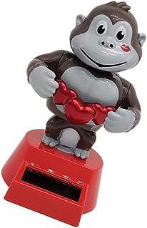 NC Solar Dancing Toy Monkey Bobblehead Creative Car Decoration Accessories