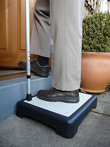 E-Fast Outdoor Half Step Anti Slip Door Step Mobility Disability Elderly Walking Aid Outdoor Step Platform, Half Step for Disabled, Half Step for Elderly by E FASTÃ'Â