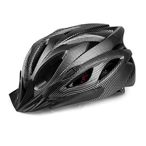 HADLIN Adult Bike Helmet Specialized Mountain Road Bike Helmets for Men Women Adjustable Size with Detachable Visor