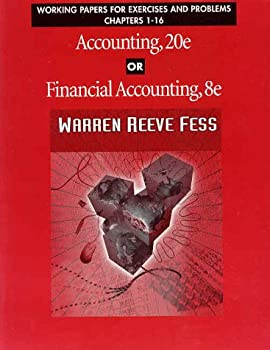 Paperback Working Papers Chapter 1-16 Accounting Book