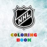 NHL Coloring Book: Super book containing every team logo from the NHL