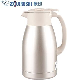 ZOJIRUSHI 象印 保温壶HA15C家用不锈钢真空保温瓶1.5L大容量 (香槟色PF)