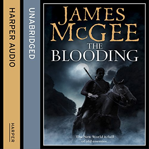 The Blooding audiobook cover art