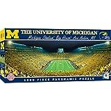 MasterPieces NCAA Michigan Wolverines Football Stadium Panoramic Jigsaw Puzzle, 1000 Pieces, 13' x 39'