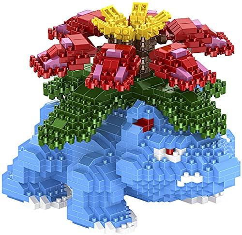 NXNX Froschblöcke Modell Mini Ziegelsteine 3D Puzzle Pädagogische Spielzeug Geschenke Desktop Sammlung Dekoration Für Kinder, 1614Pcs