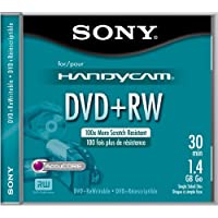 sony DVDビデオカメラ用 8cmDVD+RW 30分 1枚パック