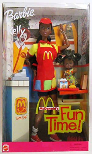 Barbie and Kelly McDonalds Fun Time AA (2001)