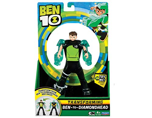 Ben 10BEN29100Diamondhead Ben a Alien Transforming Figure